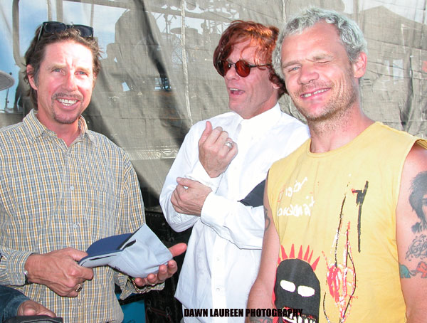Jon Doe, Bob Forrest, Flea Photo By Dawn Laureen