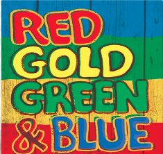 Red Gold Green & Blue Cover